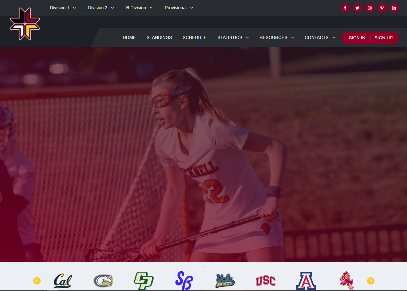 Customized league, player and statistics sports package